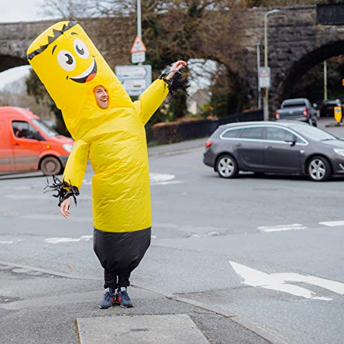 wacky waving inflatable tube man costume