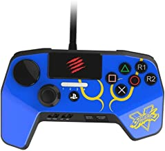 Mad Catz Street Fighter V FightPad PRO Controller for PS4 and PS3 - Blue