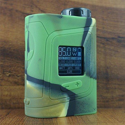 ModShield for SMOK AL85 Baby Alien 85W TC Silicone Case ByJojo Cover Sleeve Skin Wrap Case (Camo)