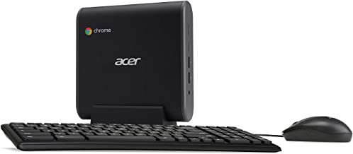 Acer Chromebox, 8th Gen Intel Core i5-8250U, 8GB DDR4, 64GB SSD, Keyboard, Mouse, Chrome, CXI3-I58GKM