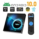 TV Box Android 10.0, T95 Android TV Boxes 4GB RAM 64GB ROM H616 Quad-core 64-bit...
