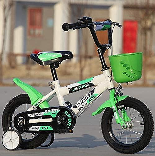 Defect Kinder fürrad 14-16-18 Zoll m licher und Weißicher Kinderwagen 6 Jahre altes Mountainbike-Kind mit Vier R