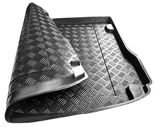 Kofferraumwanne aus PVC, kompatibel mit Audi Q3 Sportback ab 2019, niedriger Teil + Geschenk, Kofferraummatte, Autozubehör, ideal für Hunde und Haustiere