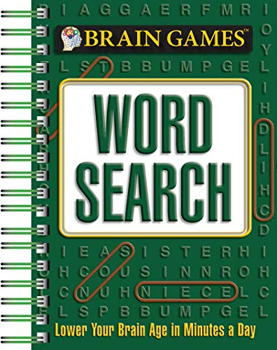 Top brain games mini word search for 2020