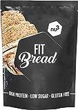 nu3 Preparato per Pane Proteico 230 g con poche calorie - Impasto per Pane Vegano Senza Glutine ad Alto Contenuto Proteico con Semi di Lino, Chia, Psillio e Farina di Mandorle