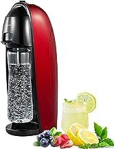 Hengge Machine à eau soda, bouilleur de soude fait de l'eau soda pour les cocktails et le vin mousseux