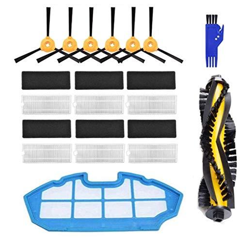 APLUSTECH Kit de 21 Accesorios y Recambios para Cecotec Conga Excellence 990 y Ecovacs Deebot N79 N79S- Cepillo Lateral,...