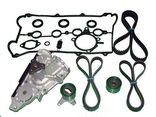 fit Toyota Land Cruiser Lexus LX470 4.7L V8 1998-2004 Replacement Timing Tools with Water Pump SCITOO Engine Timing Part Belt Set Timing Belt Kits