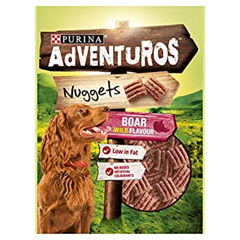 Purina Adventuros Nuggets with Boar Flavour 90g,