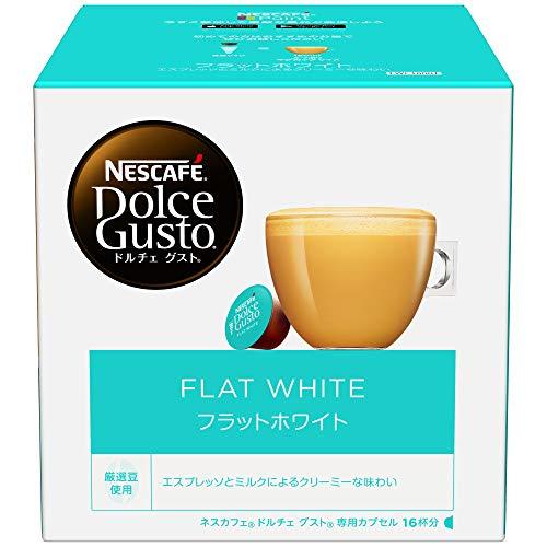 ネスレ ネスカフェ ドルチェグスト 専用カプセル フラットホワイト 1箱 16杯分 [7531]