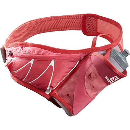 SALOMON Sensibelt Cinturón de Hidratación con Botella 3D de 600 ml incluida, Unisex-Adult, Rosa, One Size