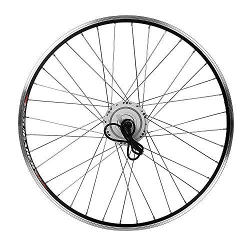"YOSE POWER Elektrofahrräder Hub Motor Front Wheel 36V250W 28"" Fahrrad E-Bike Conversion Kit 28 Zoll Silber mit LCD Display"