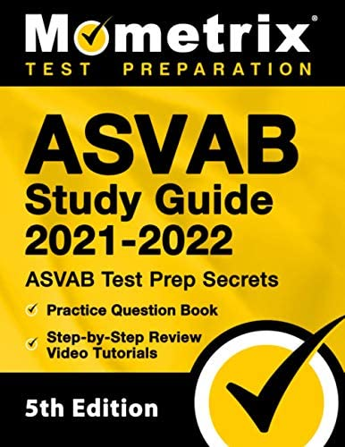 ASVAB Study Guide 2021 2022 ASVAB Test Prep Secrets Practice Question Book Step by Step Review product image