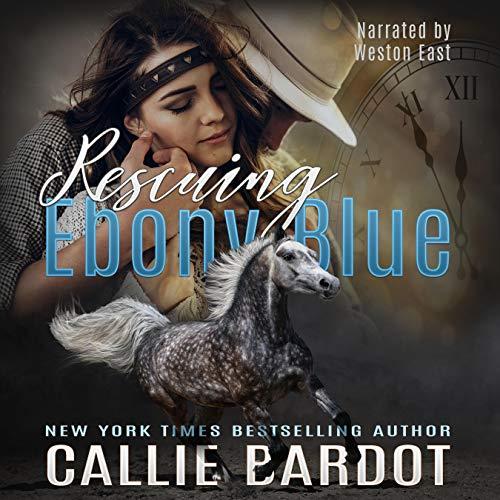 Rescuing Ebony Blue Audiobook By Callie Bardot cover art