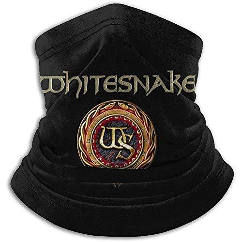 Best& Whitesnake - Babero multifuncional para otoño e invierno con máscara cálida y bufanda