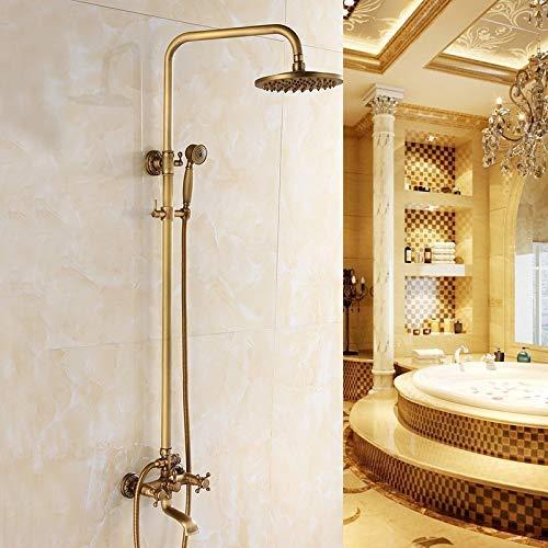 Find Discount Man-hj Hand Shower All-copperEuropean-styleBathroomShowerSetAntiqueHand-heldShowerSyst...