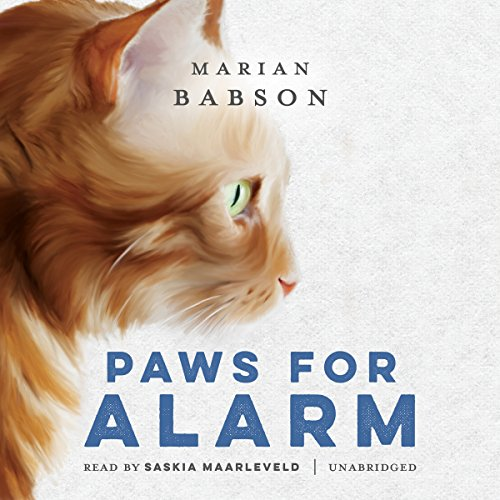Paws for Alarm audiobook cover art