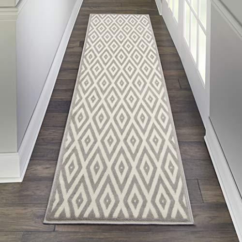 Marca de Amazon - Movian Mesta, alfombra rectangular, 228,6 de largo x 68,6 cm de ancho (diseño geométrico)