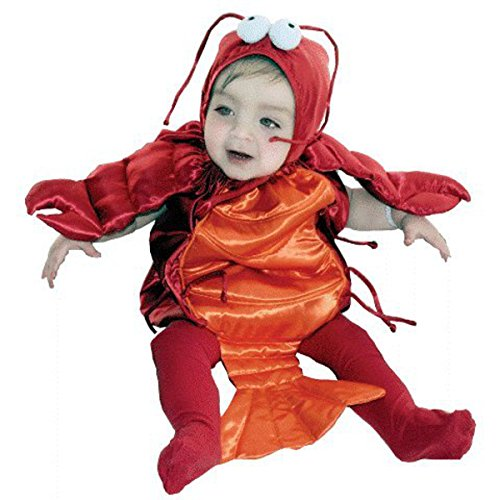 Unique Infant Toddler Halloween Costume : Lobster Baby Costume (6-18 Months) Red