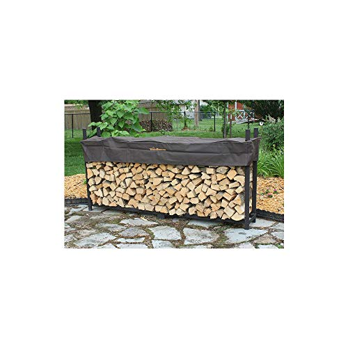 Best Prices! Quality Brand Company QBC Woodhaven Firewood Rack 120 WRC 10ft Firewood Rack Black (4ft...