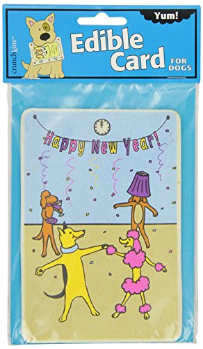Crunchkins Comestible Crunch Card, Happy New Year