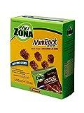 ENERZONA - MINIROCK 40-30-30-1 CONFEZIONE DA 5 MINIPACK DA 24 g. Snack di soia e cioccolato al latte, ricco in proteine e fibre. Senza glutine. 1 minipack = 1 blocco