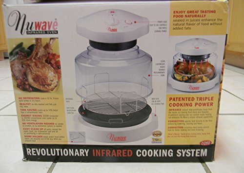 Nuwave 20201 Analog-Controlled Infrared Tabletop Oven, White