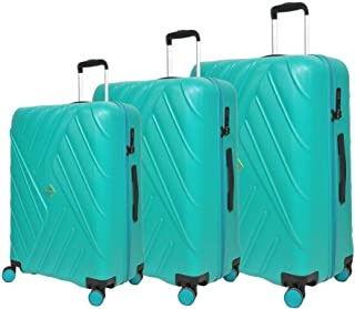 Magellan Hardside spinner luggage Set of 3 pieces with TSA Lock -Turquios