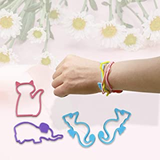 20PC Summer Anti-Mosquito Animal Style Bracelet Children's Adult Baby Pregnant Women Mosquito Repellent Silica Gel Lightwe...