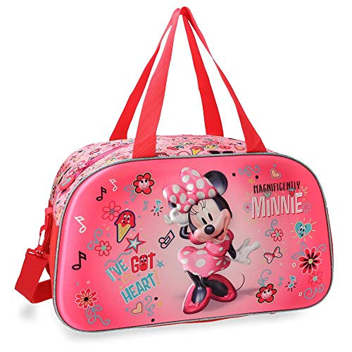 Bolsa de viaje Minnie Stickers 44cm frontal 3D