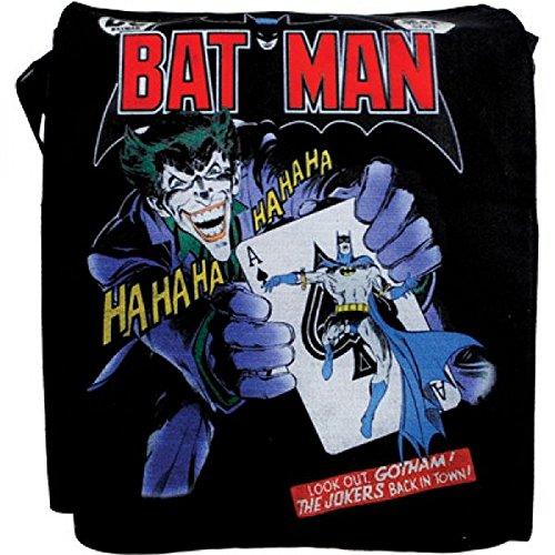Batman , Sac pour femme à porter à l'épaule Schwarz / Multicolor -