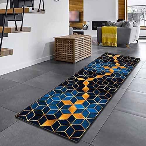 Amazpro Tapis de Couloir 40x140cm, Tapis de Passage Couloir, Antidérapant Durable Lavable Tapis sur Mesure pour Cuisine, Couloir, entrée