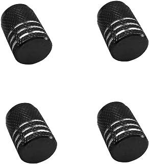 Confezione da 4 Tappi per valvole Pneumatici Auto a Forma di Corona con Strass KKmoon