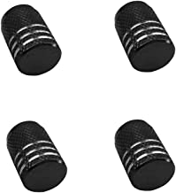 Gaddrt copri-valvole in acciaio inossidabile Set di 5 tappi antipolvere per pneumatici di forma esagonale