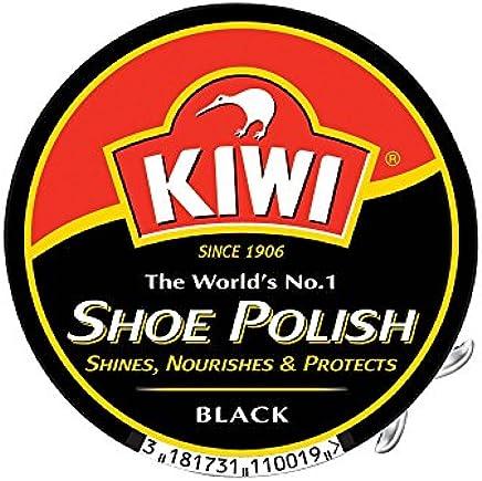 Kiwi Black Shoe Polish, 100 ml