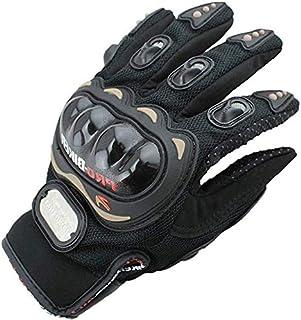 Bike Gloves Motorcycle, Motorbike, Pro Biker Gloves Full Finger Carbon Fiber Outdoor Sports Riding Motorbike Gloves Racing...