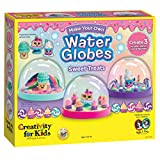 Creativity for Kids Make Your Own Water Globes Sweet Treats – Create 3 DIY Dessert Themed Snow Globes