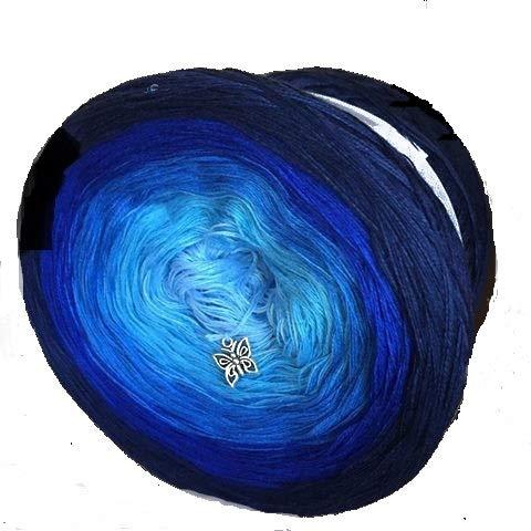 Bobbelmaniacs Farbverlaufsgarn 200 Gramm Bobbel Farbe 425 (Grundpreis EUR 7,50/100 Gramm)