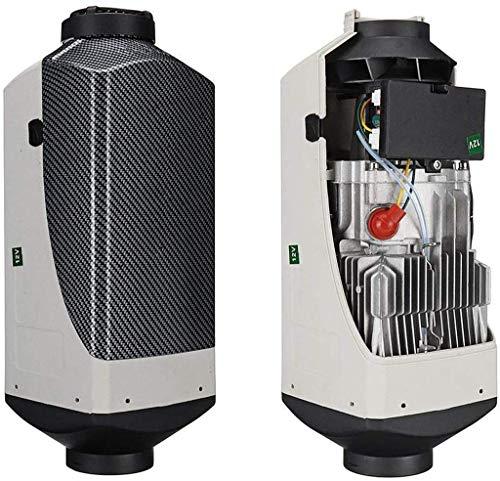 5kw bilvärmare diesel luftvärmare bilvärmare luftvärmepump värmare, 12/24 V bilvärmare med fjärrkontroll, -12 v-grå