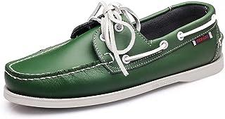 Xinghuanhua Chaussures bateau pour homme - Chaussures de marche nordique