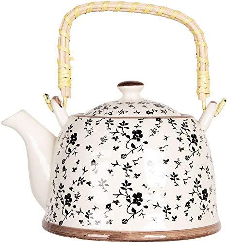 Clayre & Eef 6CETE0081L Teekanne Vintage Teapot 18x14x12 cm / 0,8L