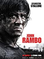 RAMBO –シルベスタースタローン–フランス輸入映画ウォールポスター印刷-30CM X 43CM ランボー4