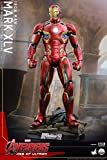 Hot Toys Marvel Avengers Age of Ultron Iron Man Mark XLV 45 Quarter 1/4 Scale Figure