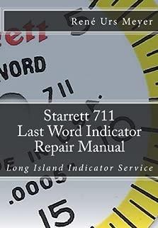 starrett repair