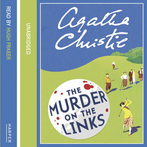 Murder on the Links audiobook cover art