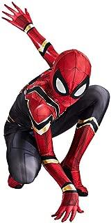 S&C Live アイアン・スパイダーアーマースーツコスプレ 分離式 男の子向き ボーイズ リアル 3D立体プリント 戦っている感 かっこいい マッチョ アイアン・スパイダーアーマー アイアン・スパイダースーツ スパイダーマンコスプレ スパイダーマンコスチューム スパイダーマン仮装 スパイダーマン全身タイツ スパイダーマン着ぐるみ衣装 スパイダーマン筋肉服 キッズ 子供 スパイダーマン戦闘服 脱がなくてもオシッコできる便利なデザイン スパイダーマン:ファー・フロム・ホーム ピーター・パーカー / スパイダーマンコス#190166 (キッズ, S(対象身長100-110cm))