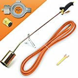 Gasbrenner 58 KW Unkrautvernichter Brenner Dachbrenner Mitteldruckregler SN0283R2
