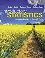 Introductory Statistics: Exploring the World Through Data, 3rd Edition Front Cover