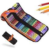 Lápices para colorear de acuarela, 36 colores juego de lápices de arte para diario, dibujo,...