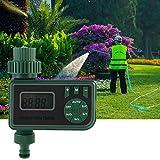 Eurobuy Wasser Timer Digital, Bewässerung Timer One Outlet Programmierbare wasserdichte automatische Schlauch Wasserhahn